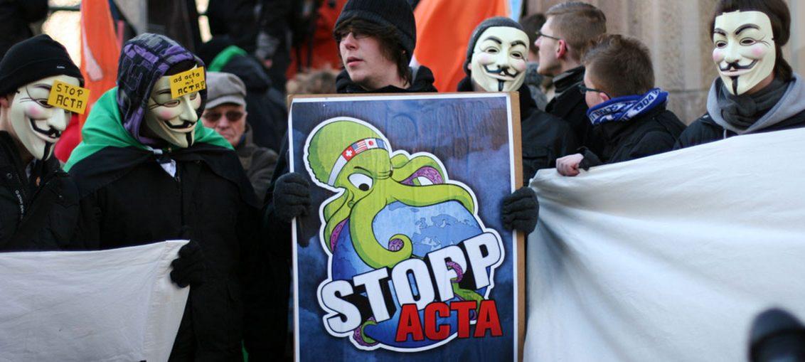 ACTA gefährdet den Onlinehandel