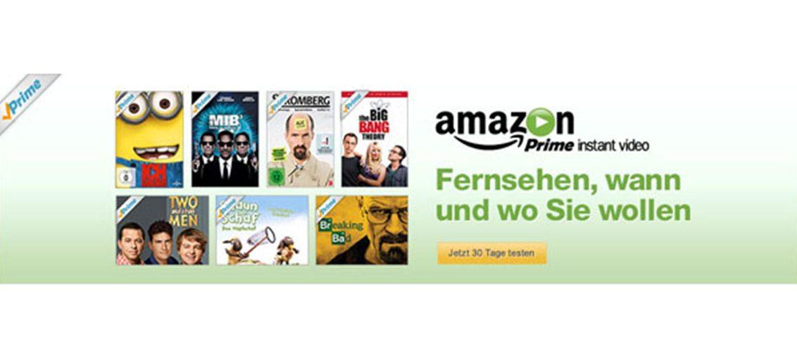Unbegrenztes Streaming von Filmen und TV-Serien mit Amazon Instant Video