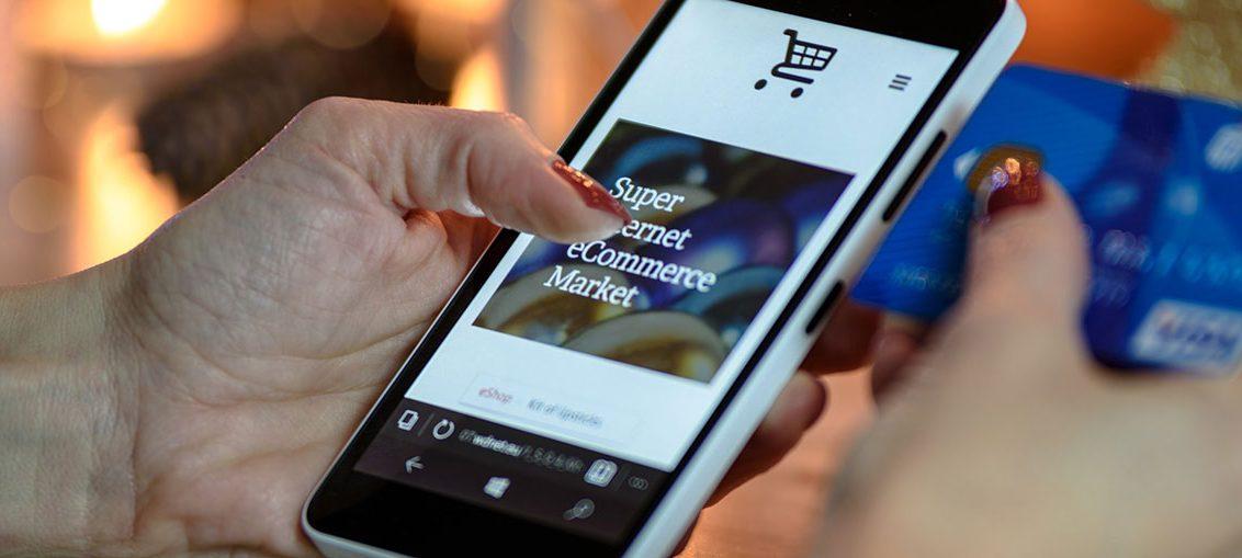 Mobiler Online-Einkauf legt zu